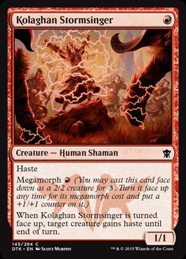 Kolaghan Stormsinger - Foil