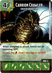Carrion Crawler - Greater Aberration (Card Only)