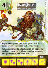 Dwarf Cleric - Paragon Lords Alliance (Card Only)