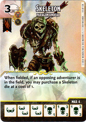 Skeleton - Paragon Undead (Card Only)