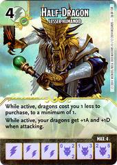 Half-Dragon - Lesser Humanoid (Die & Card Combo)