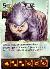 Owlbear - Lesser Beast (Die & Card Combo)