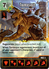 Tarrasque - Epic Aberration (Die & Card Combo)