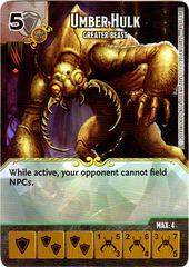 Umber Hulk - Greater Beast (Die & Card Combo)