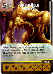 Umber Hulk - Paragon Beast (Die & Card Combo)