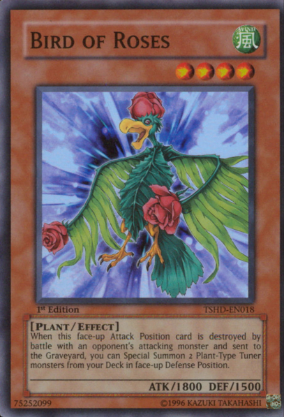 Bird of Roses - TSHD-EN018 - Super Rare - 1st Edition