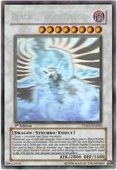 Black-Winged Dragon - Ghost Rare - TSHD-EN040 - Ghost Rare - 1st Edition on Channel Fireball