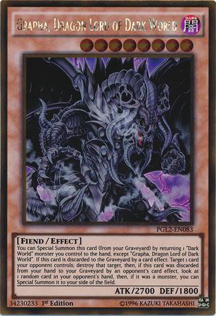 Grapha, Dragon Lord of Dark World - PGL2-EN083 - Gold Rare - 1st Edition