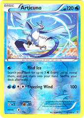 Articuno - 16/108 - Rare - Reverse Holo on Channel Fireball