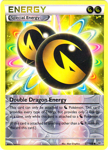 Double Dragon Energy - 97/108 - Uncommon - Reverse Holo