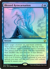 Blessed Reincarnation - Foil - Prerelease Promo