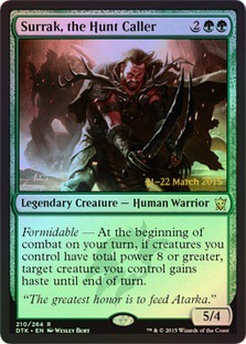 Surrak, the Hunt Caller (Dragons of Tarkir Prerelease Foil)