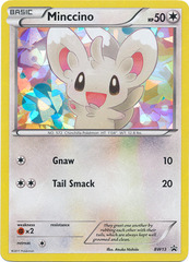 Minccino (Cracked Ice Holo)- BW13 - Promotional