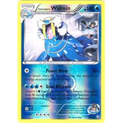 Team Aqua's Walrein - 5/34 - Rare - Reverse Holo