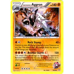 Team Magma's Aggron - 14/34 - Holo Rare