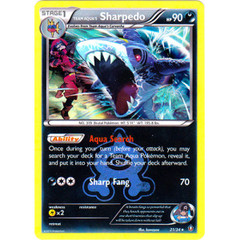 Team Aqua's Sharpedo - 21/34 - Holo Rare