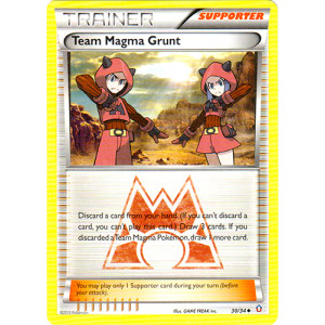 Team Magma Grunt - 30/34 - Uncommon