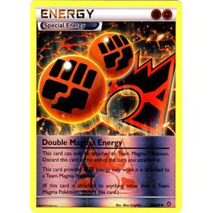 Double Magma Energy - 34/34 - Uncommon - Reverse Holo