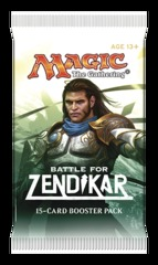 MTG Battle for Zendikar Booster Pack - English