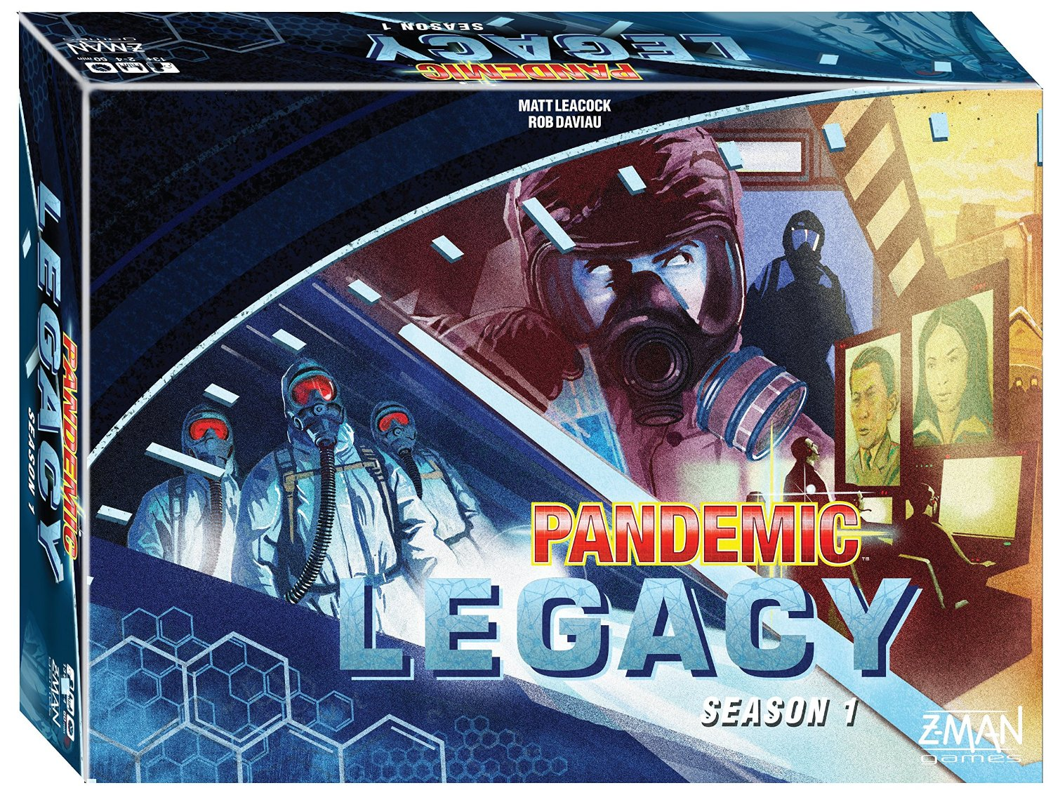 Pandemic Legacy (Blue Season 1)