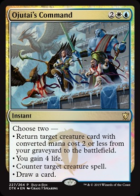 Ojutais Command (Dragons of Tarkir Buy-a-Box Promo)