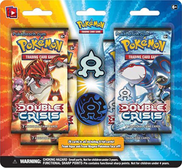 Double Crisis Team Aqua Blister Pack