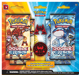 Double Crisis Team Magma Blister Pack