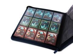 Ultimate Guard QuadRow Zipfolio: Xenoskin - Dark Blue
