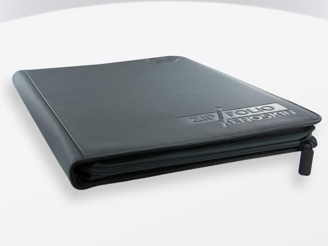 Ultimate Guard Zipfolio XenoSkin - 9 Pocket -  black