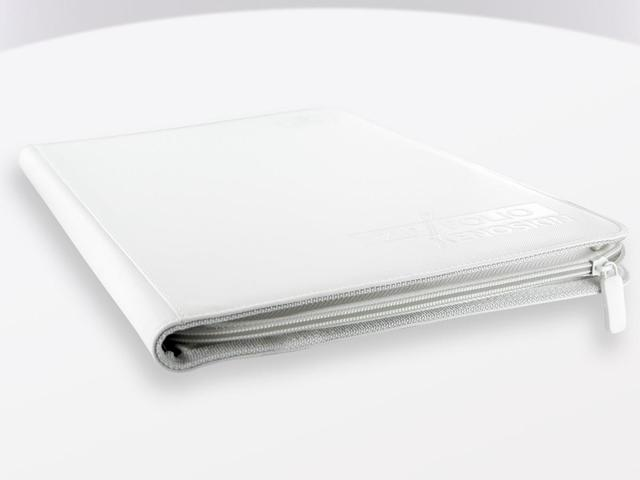 Ultimate Guard Zipfolio XenoSkin - 9 Pocket -  white