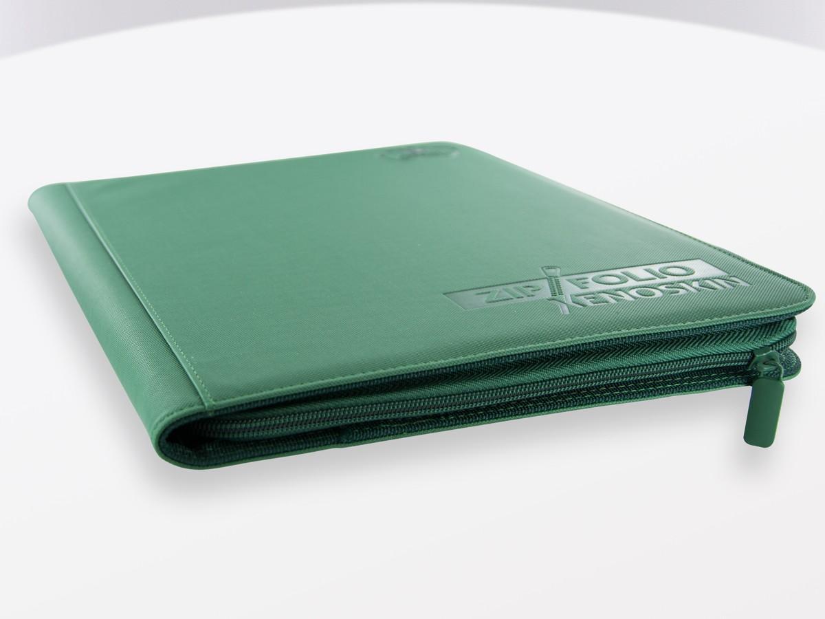 Ultimate Guard 9-Pocket Zipfolio Xenoskin - Green