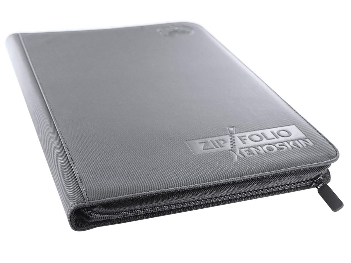 Ultimate Guard Zipfolio XenoSkin - 9 Pocket -  grey