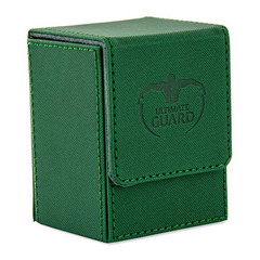 Ultimate Guard Flip Deck Case Xenoskin 80+ - green