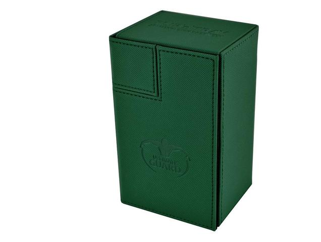 Ultimate Guard FLIPnTRAY DECK CASE 80+ - green