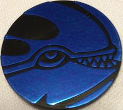Blue Kyogre (1) Collectable Coin