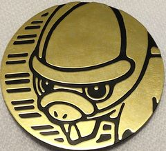 Gold Shieldon Collectable Coin