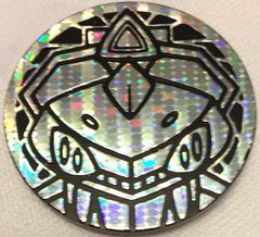 Silver Genesect Collectable Coin