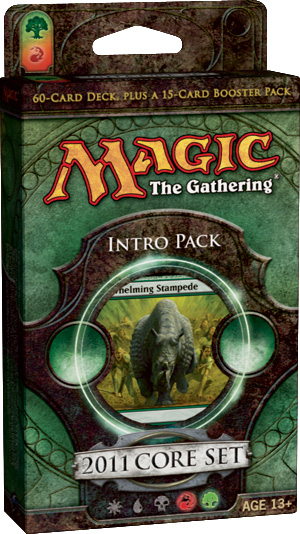 Magic 2011 (M11) Intro Pack: Stampede of Beasts