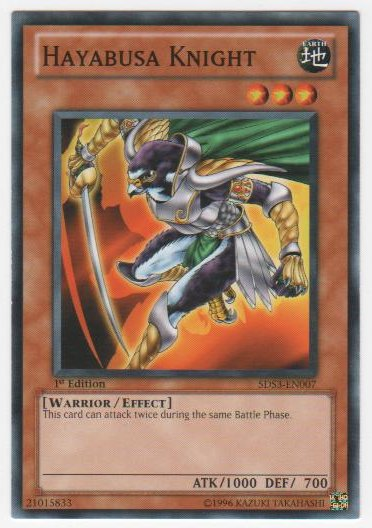 Hayabusa Knight - 5DS3-EN007 - Common - 1st Edition