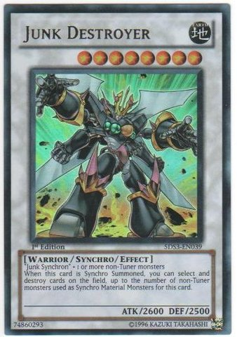 Junk Destroyer - 5DS3-EN039 - Ultra Rare - 1st Edition