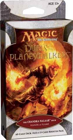 Duels of the Planeswalkers: Hands of Flame - The Chandra Nalaar Deck