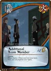 Additional Team Member - M-662 - Rare - 1st Edition