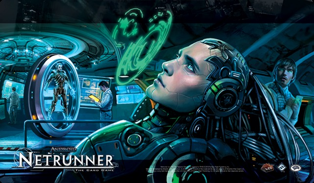 Android: Netrunner Playmat - Creation and Control