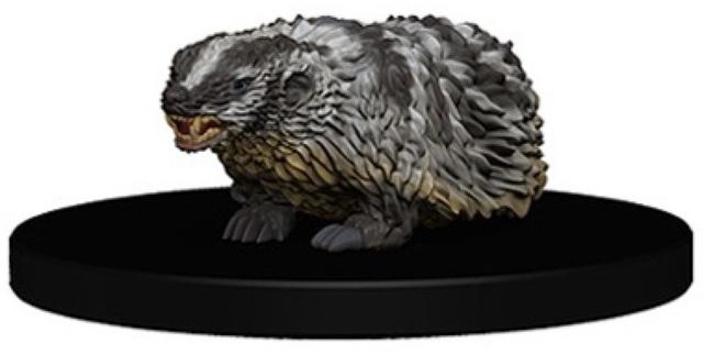 Biter, Badger Animal Companion Iconic Hero 3 - Pathfinder Miniatures