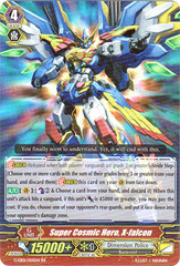 Super Cosmic Hero, X-falcon - G-EB01/005EN - RR on Channel Fireball