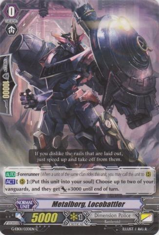 Metalborg, Locobattler - G-EB01/030EN - C