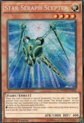 Star Seraph Scepter - WSUP-EN018 - Prismatic Secret Rare - 1st Edition