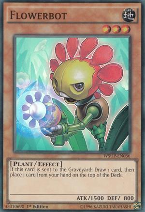 Flowerbot - WSUP-EN036 - Super Rare - 1st Edition