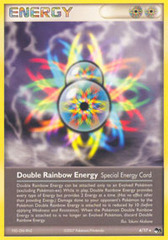 Double Rainbow Energy - 4 - Rare - Holo on Channel Fireball