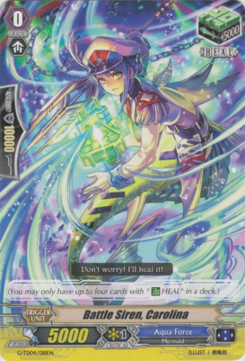 Battle Siren, Carolina - G-TD04/018EN